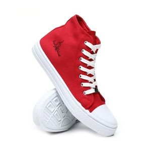 WOMENS 8 BABY PHAT RED HIGH TOP SNEAKERS❗️